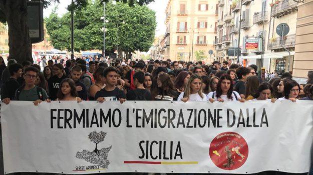 protesta, sciopero, Palermo, Economia