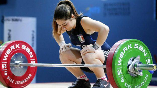 pesi, Alessandra Pagliaro, Caltanissetta, Sport