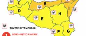Maltempo in tutta Italia: lunedì allerta arancione in alcune zone della Sicilia