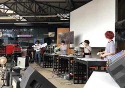 Ars Electronica di Linz, il gruppo giapponese «Los Fantasticos» Il festival si è tenuto a settembre   in Austria. Qui l'esibizione della band  - Corriere Tv