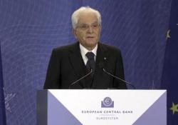 Bce, Mattarella: «Con Draghi, sistema economico Ue è più solido» Le parole del Presidente della Repubblica - Ansa