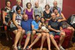 Festa dei nonni da record per il piccolo Nicolò: 13 volte auguri
