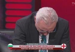 Bulgaria-Inghilterra: l'ex campione Stoichkov scoppia in lacrime in tv L'ex attaccante di Barcellona e Parma chiede il pugno duro per i responsabili degli episodi di razzismo - CorriereTV