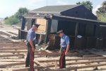 Furti di legname ed energia elettrica a Modica e Scicli: quattro arresti