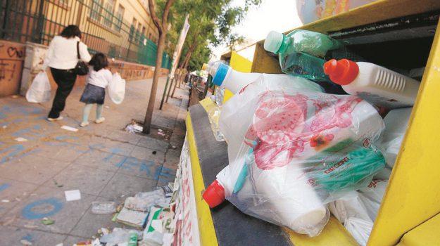 raccolta differenziata, rifiuti, Palermo, Economia
