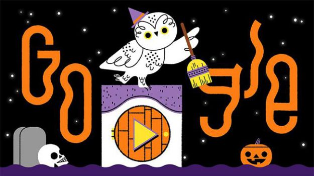 doodle di google, halloween, Sicilia, Società