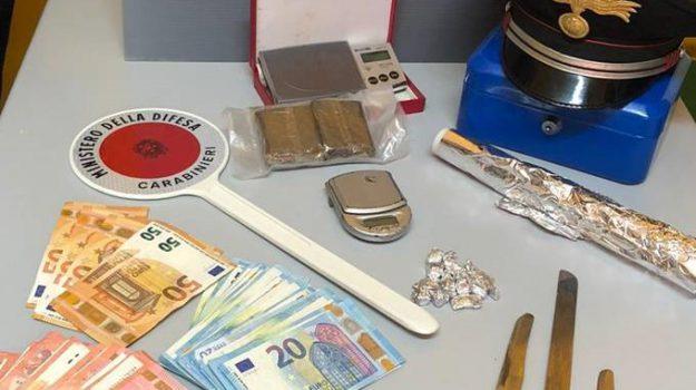 carabinieri, droga, erice, Trapani, Cronaca
