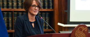 Il ministro alle Pari opportunita e della Famiglia Elena Bonetti