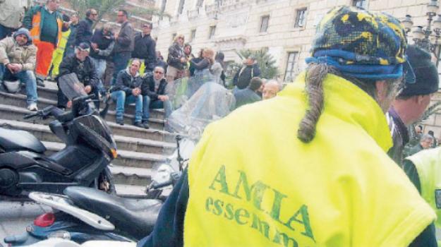 ex amia, rifiuti, Palermo, Cronaca