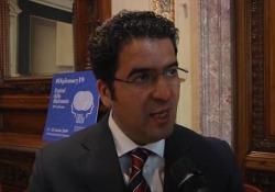 Festival della Diplomazia, l'ambasciatore libico: «Siamo stabili, aspettiamo le aziende italiane» Omar Tarhuni a Roma a margine del suo intervento - Ansa