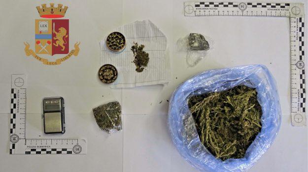 droga, Paizza Armerina, polizia, Enna, Cronaca