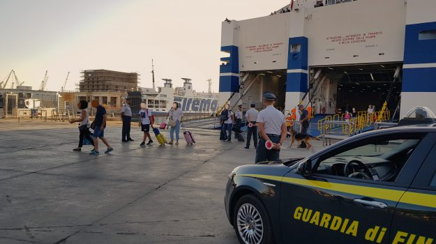 droga, guardia di finanza, porto palermo, Palermo, Cronaca