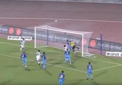 La porta «stregata»: 3 pali in 3 secondi Il curioso «record» nell'ottava giornata della Qatar Star League - CorriereTV