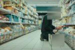 Lavoro nero in un supermercato