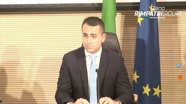 governo, migranti, Luigi Di Maio, Sicilia, Politica