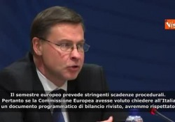 Manovra, Dombrovskis: «Non pensiamo a bocciatura dell'Italia ma restano preoccupazioni» Le parole del vice presidente della Commissione Ue - Agenzia Vista/Alexander Jakhnagiev