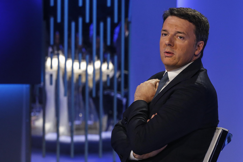 """Matteo Renzi: """"Noi non vogliamo lasciare le postazioni, se poi il presidente del Consiglio vuole lo dica"""""""
