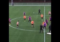 Olanda, il torello è ipnotico La sessione d'allenamento del PSV - Dalla Rete