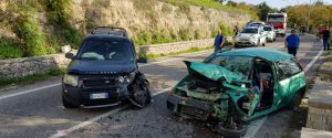 Lo schianto mortale sulla strada provinciale Chiaramonte Gulfi-Maltempo (Foto Libero consorzio di Ragusa)