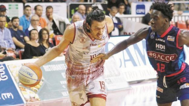 basket, Daniele Parente, Trapani, Sport
