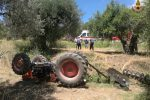 Caronia, il trattore si ribalta: grave un 55enne di Bagheria
