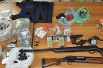 Droga e armi, arrestato 34enne a Catania