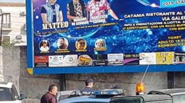 Concerto abusivo a Catania, indagati 10 cantanti neomelodici