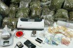 Messina, nasconde in casa 16 chili di marijuana: arrestato 24enne