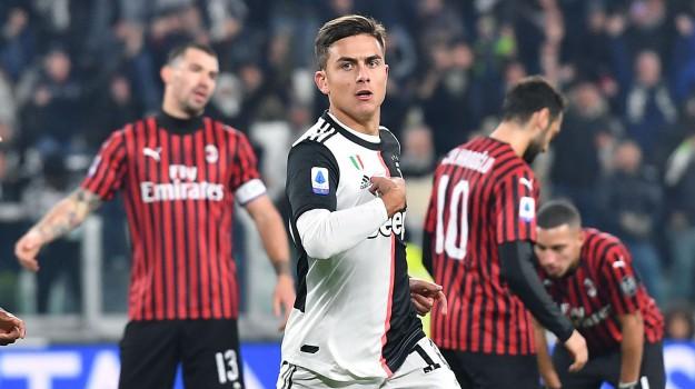 Juventus, Milan, Paulo Dybala, Sicilia, Calcio