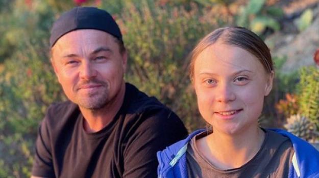 clima, Greta Thunberg, Leonardo DiCaprio, Sicilia, Società