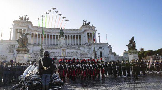 4 novembre, forze armate, Sergio Mattarella, Sicilia, Cronaca