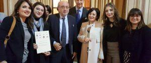 """Roma, premiati al ministero gli studenti del liceo santagatese """"Sciascia-Fermi"""""""