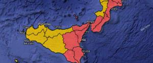 Meteo, allerta rossa in mezza Sicilia: scuole chiuse in molti comuni