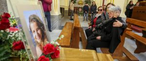 I funerali di Ana Maria Lacramioara a Giardinello