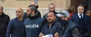 Angelo Mangano, una delle persone fermate a Palermo