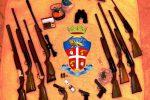 Scoperto un arsenale a Catania, le armi rubate a Ispica: arrestato un 34enne