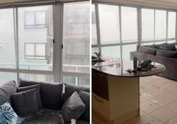 Australia: la tempesta  rompe i vetri ed entra in casa La tempesta si è abbattuta sulla Sunshine Coast, nel Queensland del Sud - CorriereTV