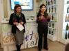 Tiziana Briguglio e Valentina Canali alla conferenza stampa di presentazione di Vinicibando