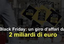 Black Friday: un giro d'affari da 2 miliardi di euro Il giorno più atteso dell'anno dagli amanti dello shopping è arrivato - Ansa