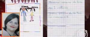 Claudia Stabile e il disegno della figlia
