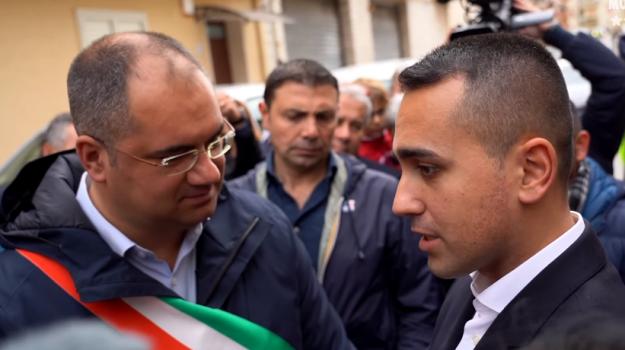 m5s, Maltempo, Luigi Di Maio, Sicilia, Politica