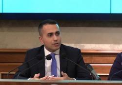 Ex Ilva, Di Maio: «ArcelorMittal dovrebbe fare bagno di umiltà» Il ministro degli Esteri in conferenza stampa sul dl Clima - Ansa