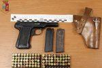 Lentini, nasconde in casa pistola e munizioni: arrestato
