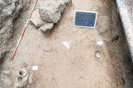 Gela, una ricca necropoli scoperta nel quartiere Borgo