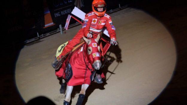 equitazione, Gina Schumacher, Michael Schumacher, Sicilia, Società