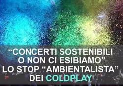 I Coldplay sospendono il tour: «Concerti ecosostenibili o non ci esibiamo» La band britannica presenta il 22 novembre il nuovo disco «Everyday Life» ad Amman - Ansa