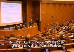 Robert Watson: «Ragazzi, educate i vostri genitori se volete salvare il mondo» Intervista al super scienziato britannico esperto di cambiamenti climatici - Corriere Tv