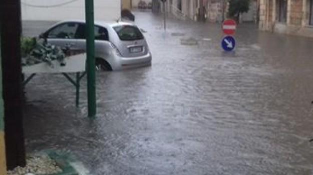 Maltempo, Pino Galanti, Agrigento, Cronaca