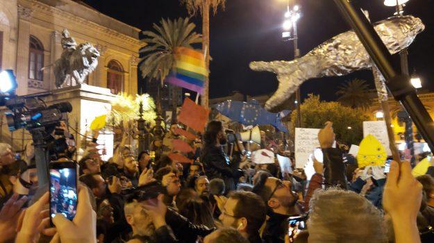 sardine, Palermo, Politica