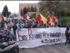 Protesta degli studenti universitari a Palermo: